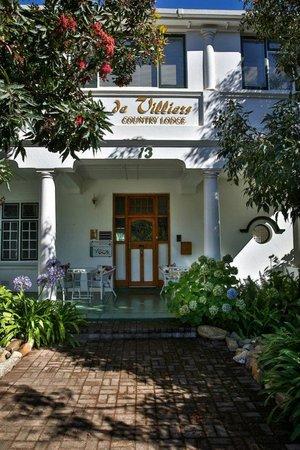 De Villiers Country Lodge: Entrance