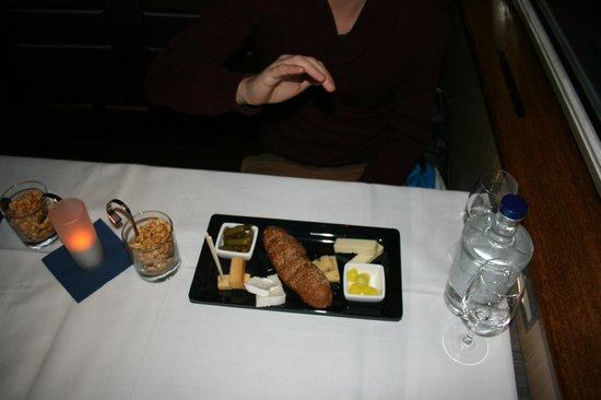 Holland International Canal Cruises: The food on the cruise