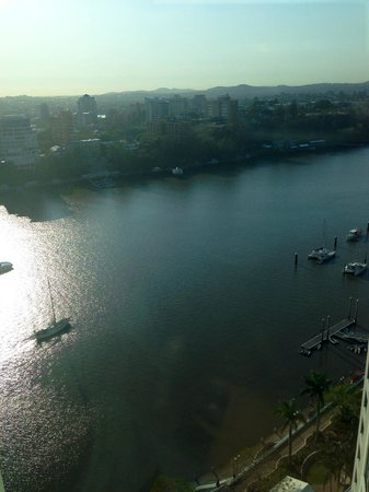 Stamford Plaza Brisbane: View from Room 2208