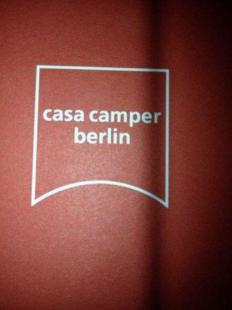 Casa Camper Berlin: Perfetto