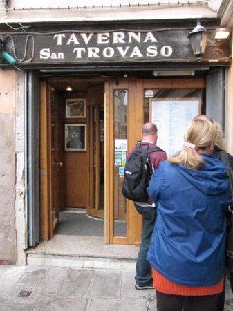 Taverna San Trovaso : san trovaso tarverna