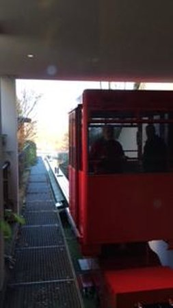 NH Prague City : Funicular at the hotel