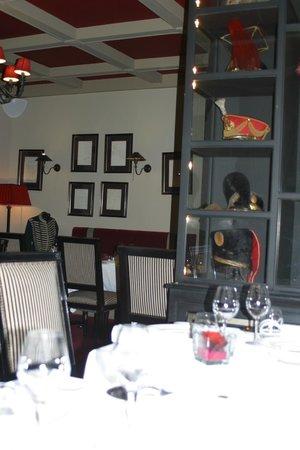 Hotel La Licorne : salle à manger