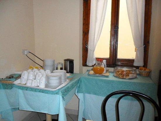 Hotel Fiorita: pastas , té y café