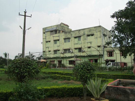 Durgâpur, Indien: Hotel with the normal rooms