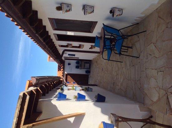 Hotelito El Tejado : Paseo