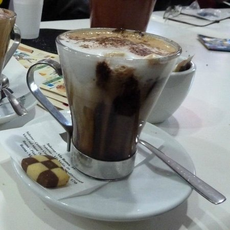 "Miles & Miles Tour Company - Tours: Our ""special cappuccino""!"