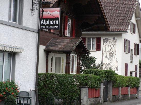 Hotel Alphorn : LETREIRO