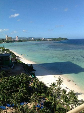 Outrigger Guam Beach Resort : Room with a View