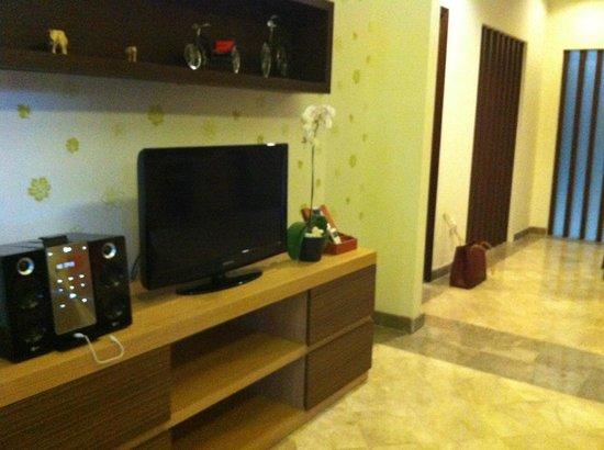 The Club Villas: Living room in the villas