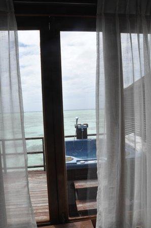 Olhuveli Beach & Spa Resort : Honeymoon watervilla in Olhuveli