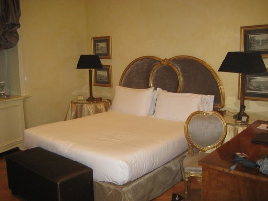 Hotel Villa Duse : Our room