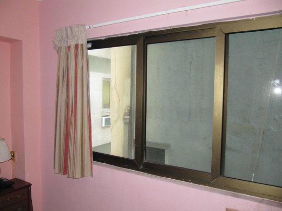 Hotel Vedado: Вид из окна