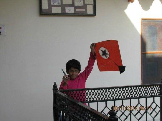 Kochar's Hotel Marudhar Heritage: heading for kite flying