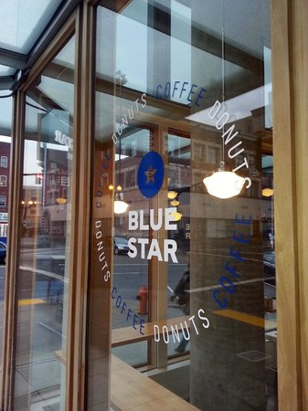 Blue Star Donuts: Sign outside