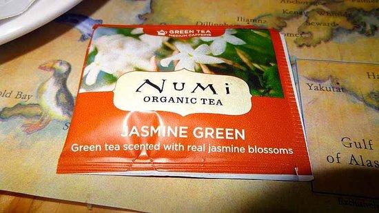 Denali Park Salmon Bake: Green Tea - nice variation