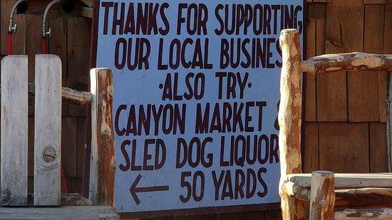 Denali Park Salmon Bake: Local Business
