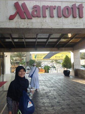 Jeddah Marriott Hotel: Entrance