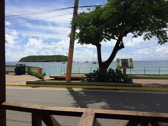 Duffy's: Nice lunch view.