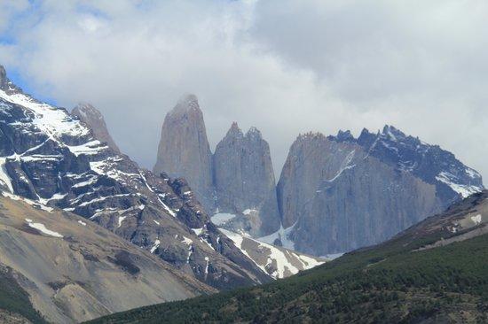 Las Torres Patagonia: Las Torres on a clear day