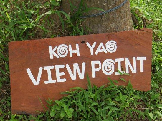 Koh Yao Yai: Koh Yao View point