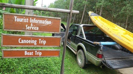 Koh Yao Yai: Going for a canoe trip