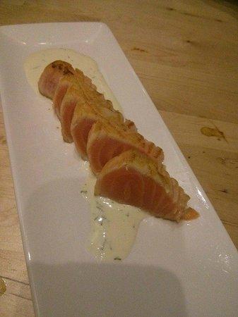 Umezushi : salmon tataki