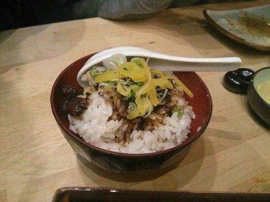 Umezushi : pork rice