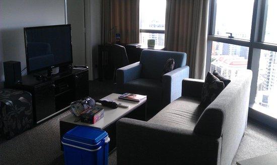 Meriton Serviced Apartments Brisbane on Adelaide Street : Lounge