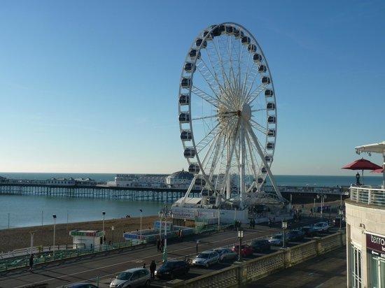 Jurys Inn Brighton : Brighton Pier (View NOT from Hotel)