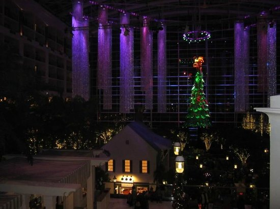 Gaylord National Resort & Convention Center: Gaylord Christmas from above
