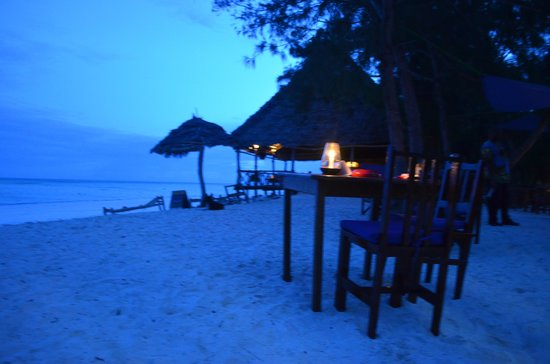 Ndame Beach Lodge Zanzibar: Restaurant
