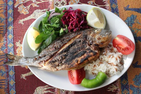 Ejder : Delicious Grilled Fish!