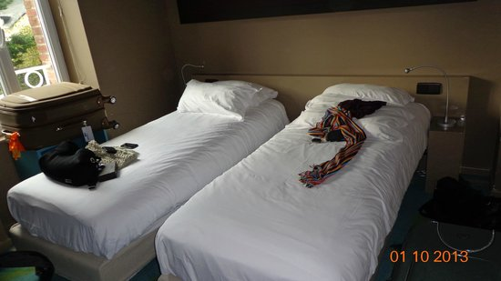 Hotel Aubade: Quarto duplo