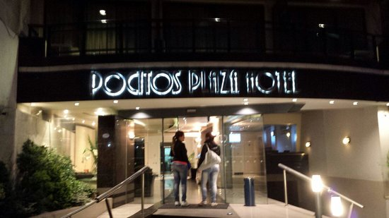 Pocitos Plaza Hotel : Frente do Hotel