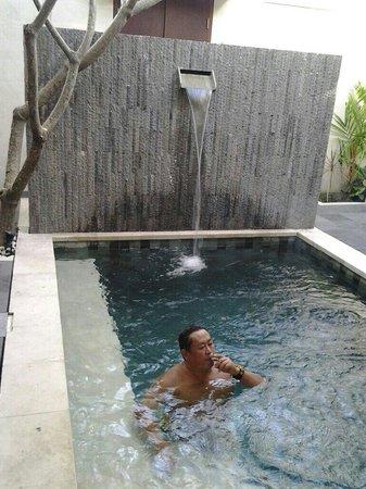 Daluman Villas : Private pool