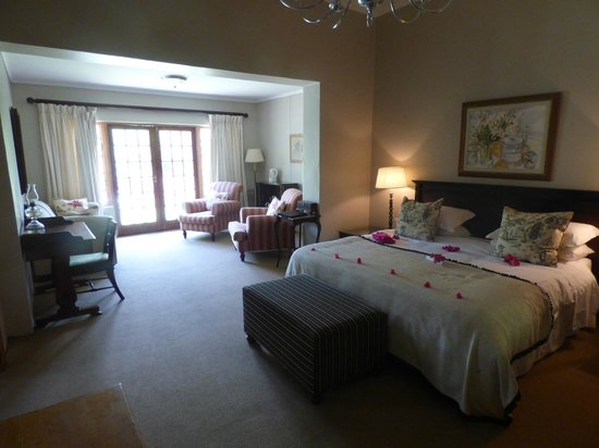 Leeuwenbosch Country House: Our room