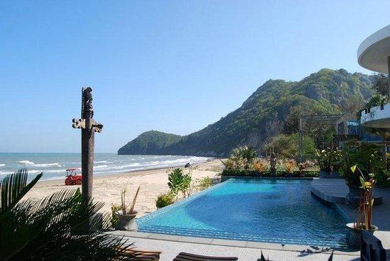Papa Monkey Resort: ภาพวิวหน้าทะเล แต่ไม่ใช่จากห้องที่เข้าพัก