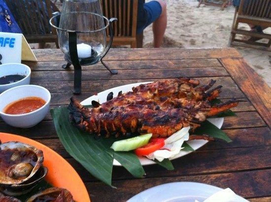 Teba Cafe Jimbaran: 1 KG lobster