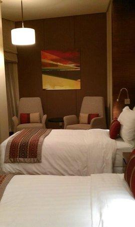 Amari Doha Qatar: the hotel room