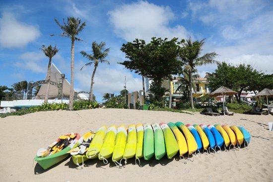 Chateau Beach Resort: 沙灘