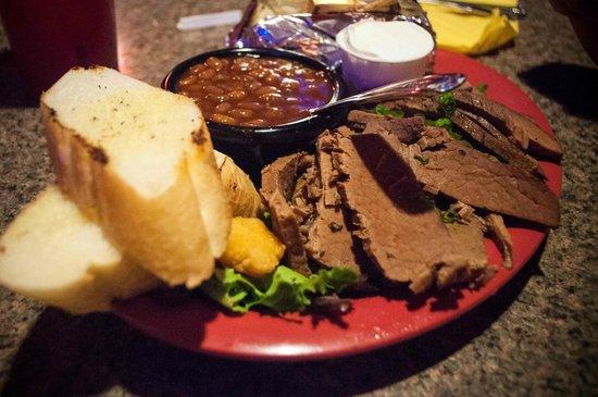 Red Rock BBQ: piatto 1