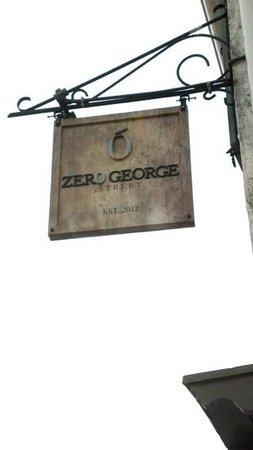 Zero George Street: Zero George
