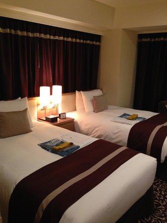 Hotel Ryumeikan Tokyo: two single beds