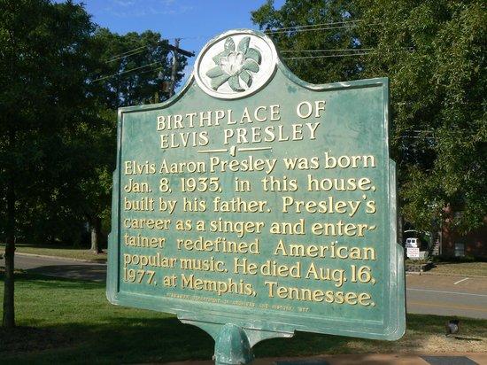 Elvis Presley Birthplace & Museum: Elvis's home
