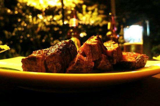 Wild Ginger: Mmmmmmh... Das leckerste Rinderfilet, das wir in ganz Costa Rica - nein: überhaupt - gegessen ha