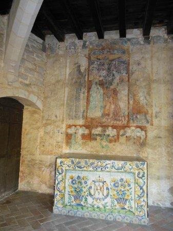 Reial Monestir de Santa Maria de Pedralbes : affresco