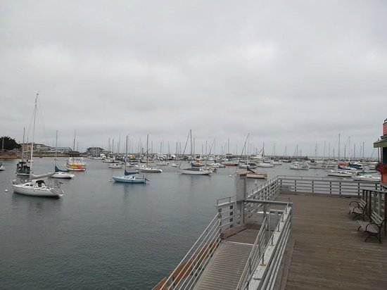 Cannery Row: a view from the pier