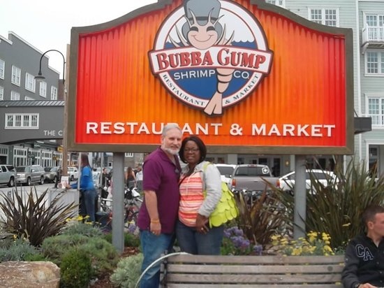 Cannery Row: outside Bubba Gump's