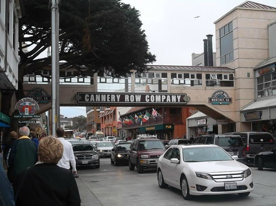 Cannery Row: Busy, bustling and beautiful